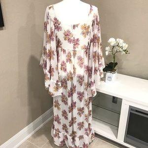 H&M Dresses - H&M Floral Sheer Maxi Dress- NWOT